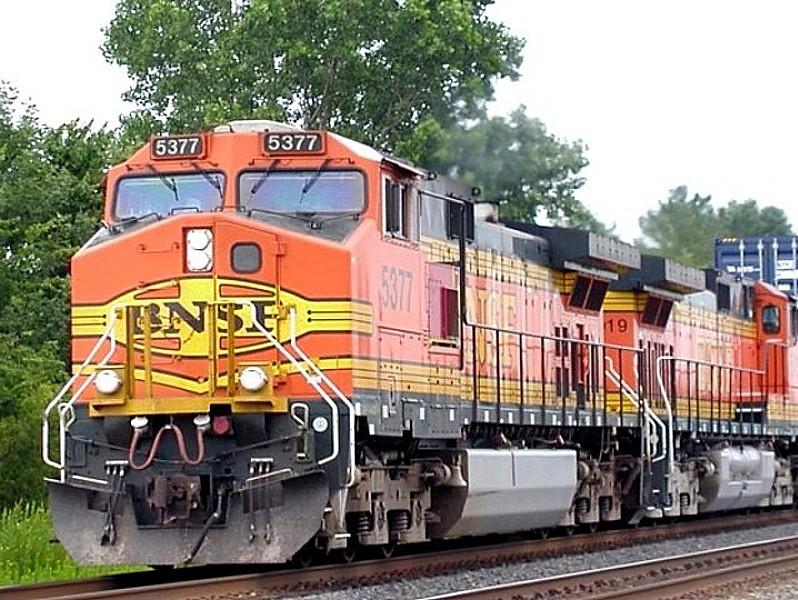 BNSF 5377 CSX B&O Line